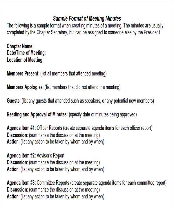 40+ Report Format Samples Sample Templates