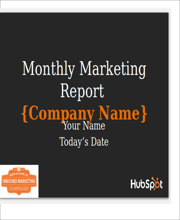 Sample Marketing Report 14 Documents in PDF Excel - oukasinfo