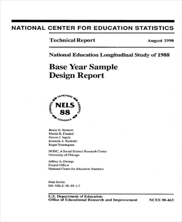 8+ Sample Technical Reports Sample Templates - technical report sample
