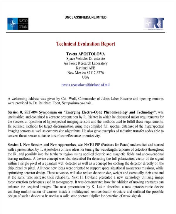 Technical Evaluation madebyrichard - technical assessment template