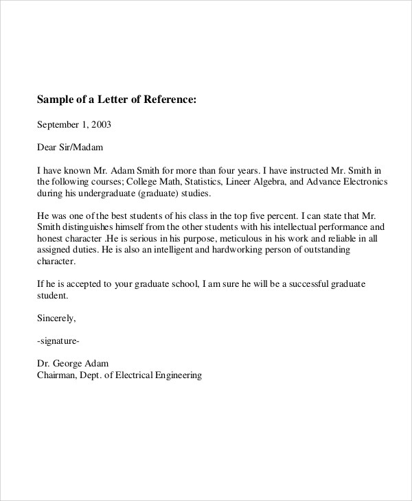 6+ Sample Employee Recommendation Letter - Free Sample, Example