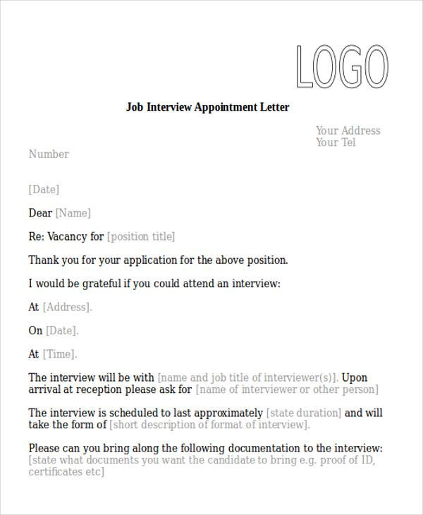 51+ Sample Appointment Letters Sample Templates - job appointment letter