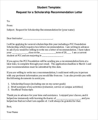 Application Letter For A Scholarship | Professional Resumes Sample