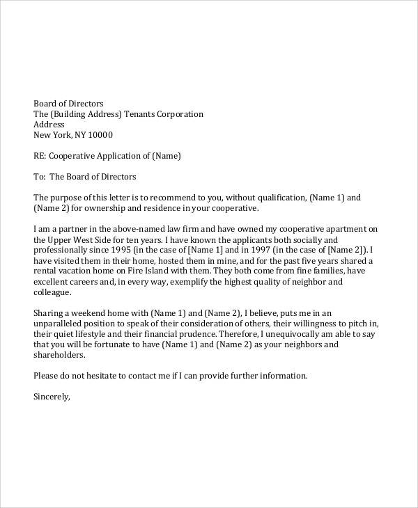 36+ Sample Recommendation Letters in PDF Sample Templates