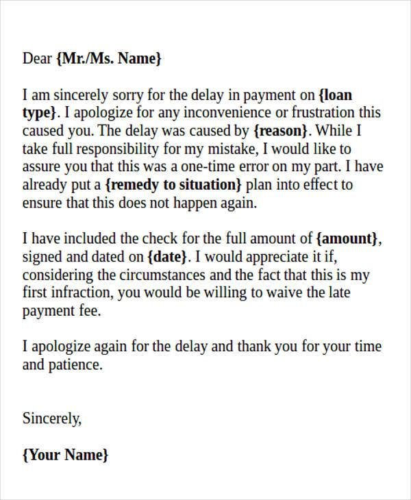 business apology letter late payment - 28 images - formal official - formal apology letters