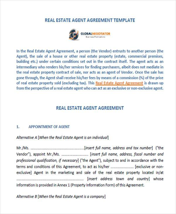 Broker Appointment Letter Template agent appointment letter