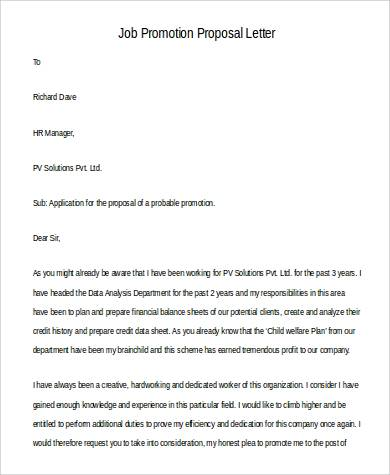 45+ Proposal Letter Examples Sample Templates