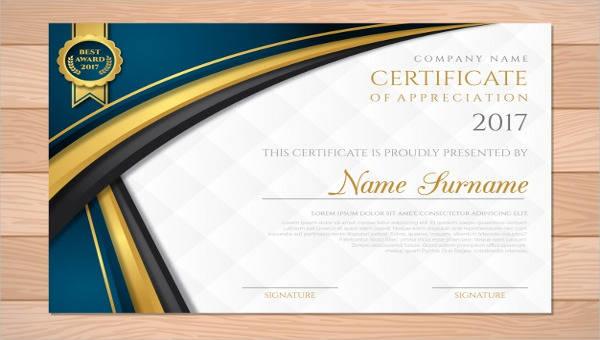 31+ Free Award Certificates Sample Templates - free award certificates
