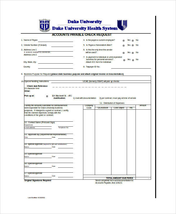 check requisition form templates