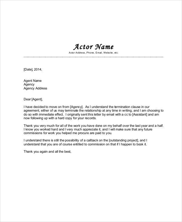 38+ Agreement Letter Examples - Word, PDF