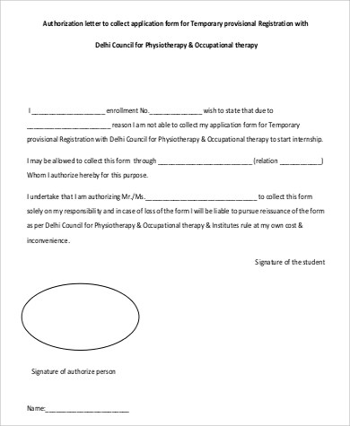 55+ Authorization Letter Samples \u2013 PDF, DOC Sample Templates - Letter Of Authorization Form