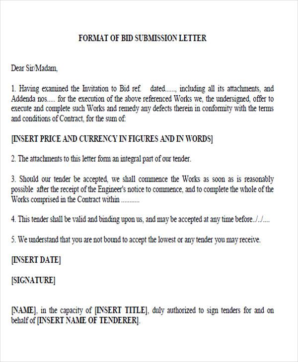 34 Proposal Letter Format Samples Sample Templates