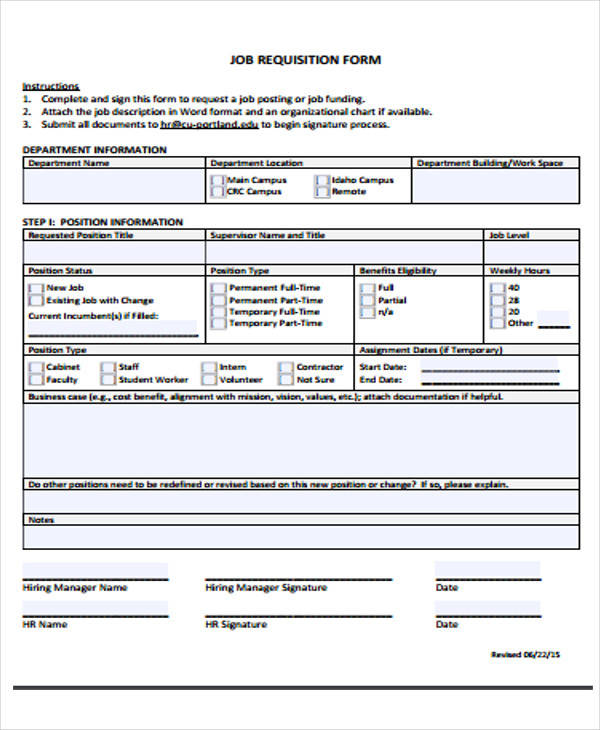 personnel requisition form sample Things That Make You Love - requisition form in pdf
