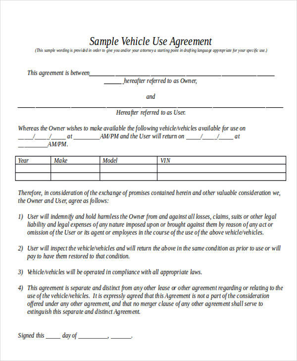 11+ Truck Lease Agreement Samples Sample Templates