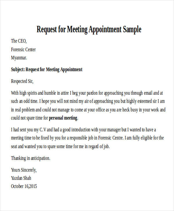 30+ Formal Request Letters Sample Templates