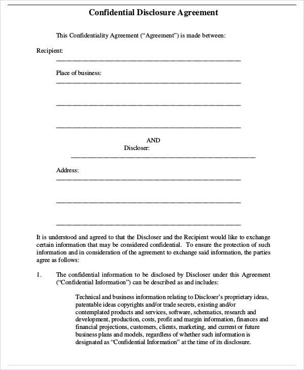 42+ Business Agreement Samples - Word, Apple Pages, Google Docs
