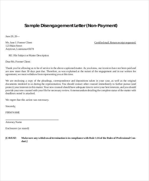 client termination letter efficiencyexperts - sample termination letters