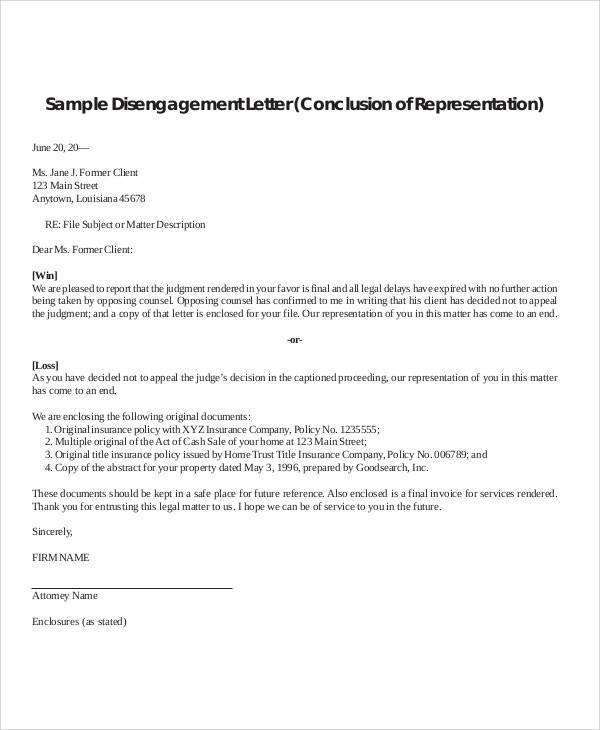 Client Termination Letter  CityEsporaCo
