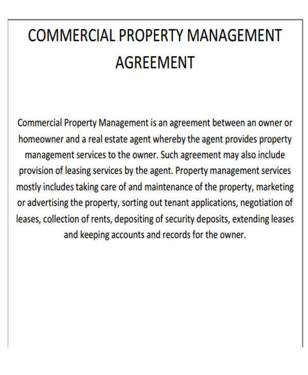 33+ Commercial Lease Agreement Samples Sample Templates