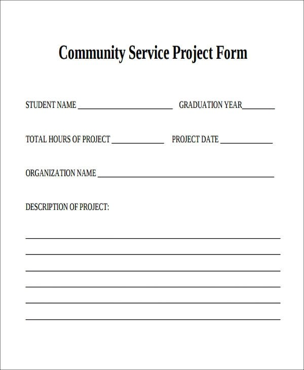 39+ Sample Service Forms in PDF Sample Templates