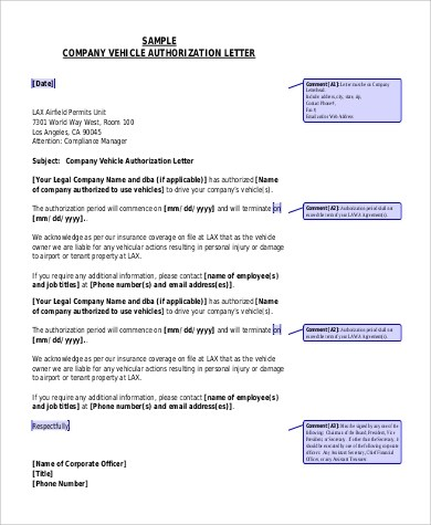 vehicle release authorization letter radiovkm