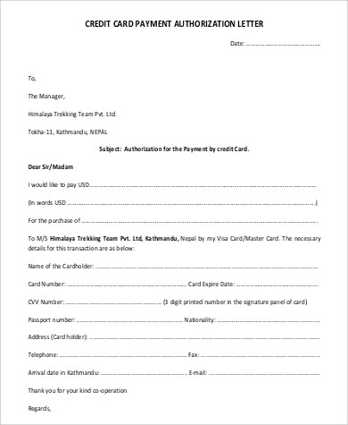 46+ Examples of Authorization Letter - PDF, Word, Pages
