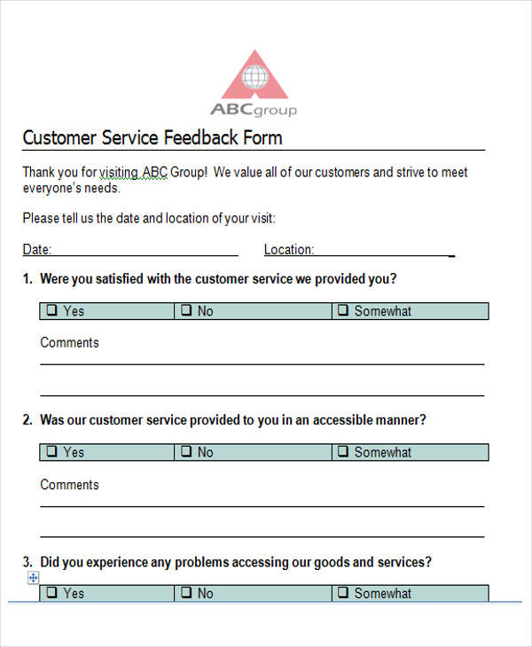 37+ Survey Forms in Word Sample Templates