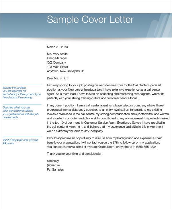 cover letter for data entry position
