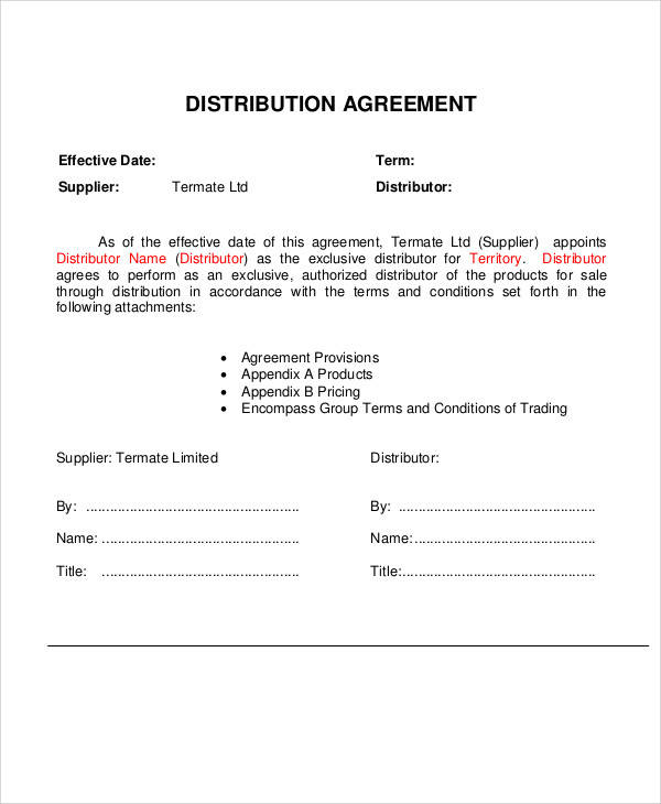 Software reseller agreement template Free Downloads Programs - reseller agreement template
