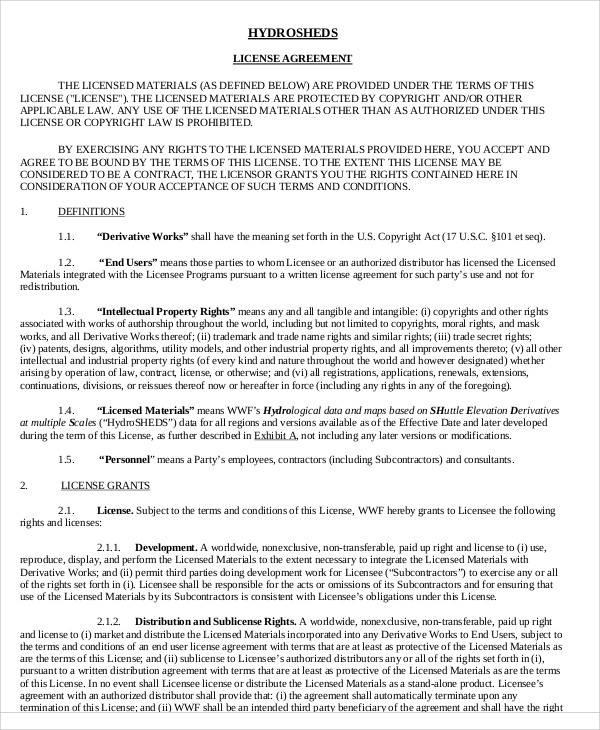 Simple Agreements - sample reseller agreement