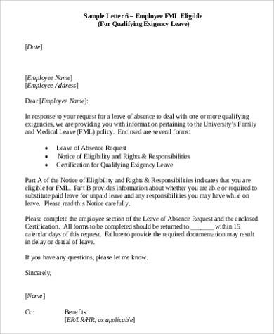letter format for leave request best of employee leave application - how to write an leave application