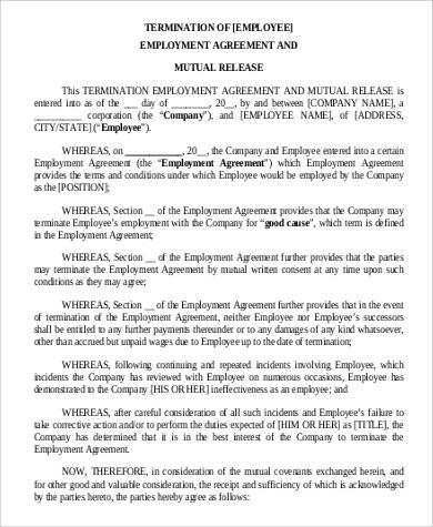 employment release agreement   efficiencyexperts.us