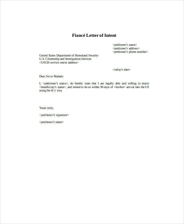 50+ Letter of Intent Examples Sample Templates - letters of intent
