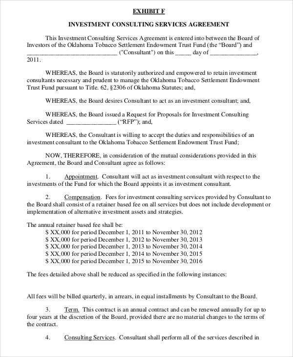 21+ Consulting Agreement Forms - Word, PDF