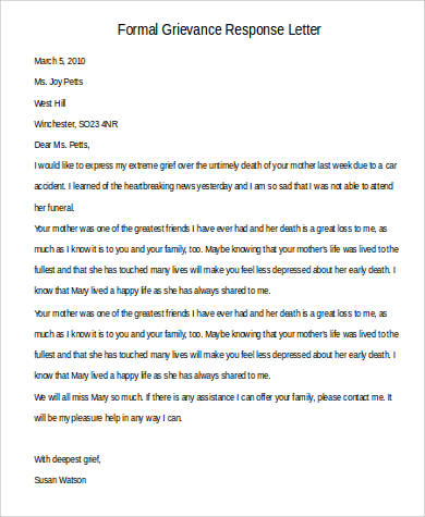 44 Examples of Formal Letters