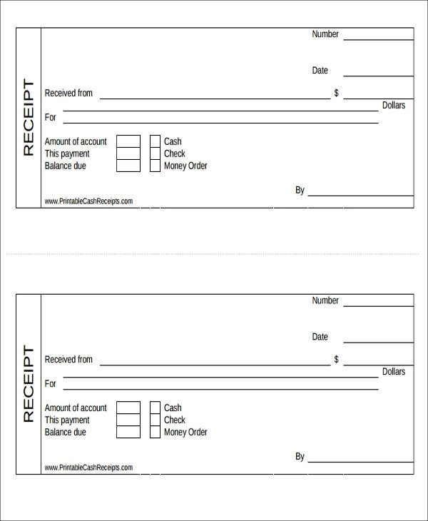 27 Free Payment Receipts Sample Templates