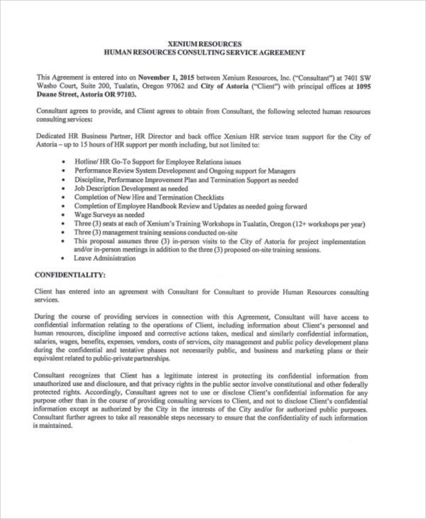 40+ Consulting Agreement Samples Sample Templates - sample consulting agreement