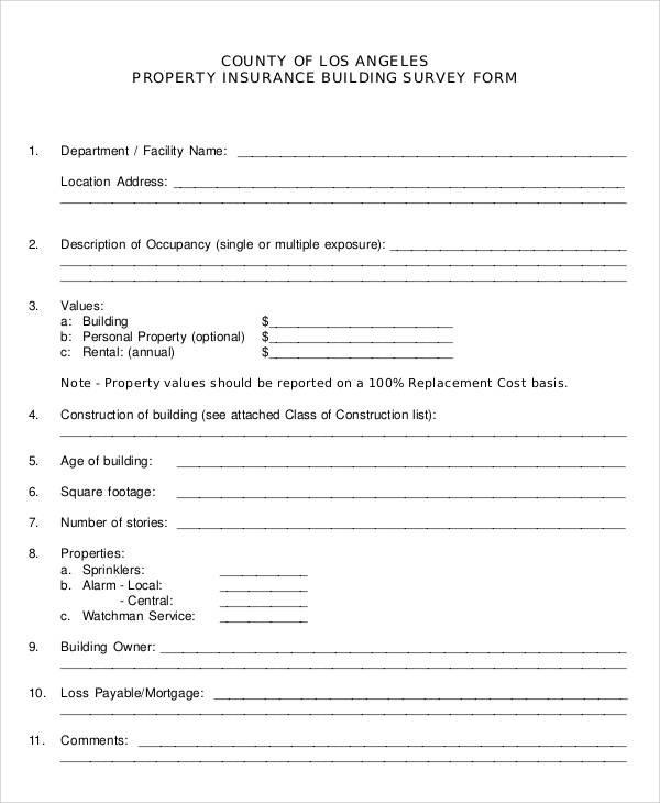 60+ Sample Survey Forms Sample Templates - printable survey forms