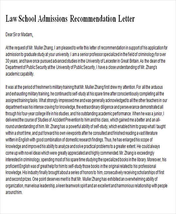 The Best Recommendation Letter EverVault BlogsVaultattorney