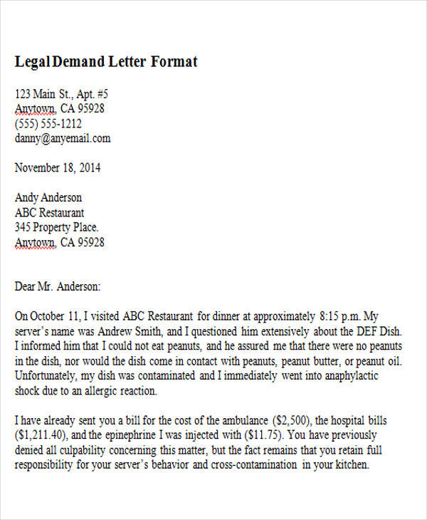 37+ Demand Letter Samples Sample Templates