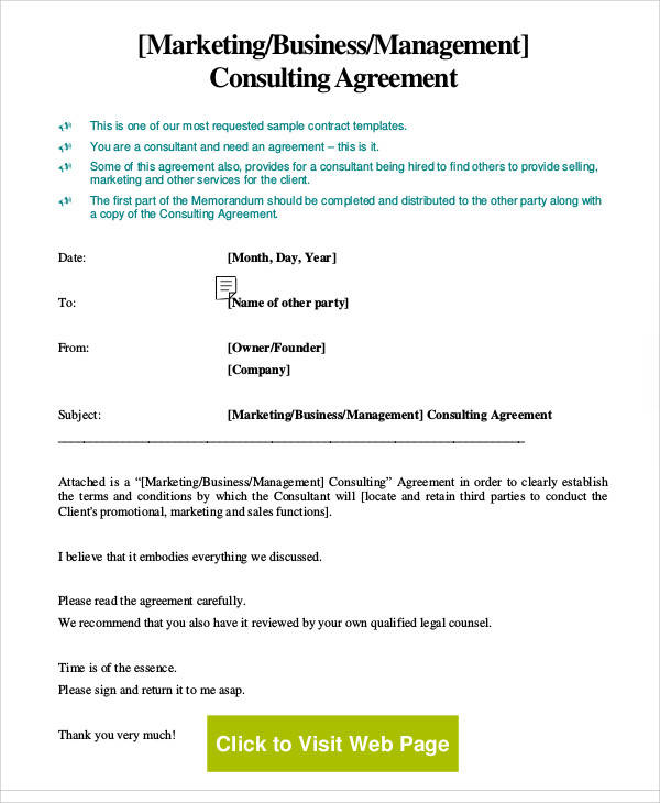18+ Consulting Agreement Forms Sample Templates - consulting agreement form