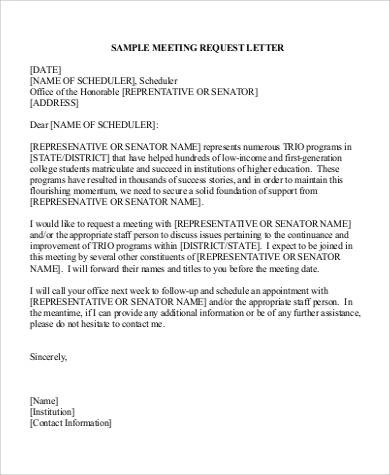 Request Letters Format