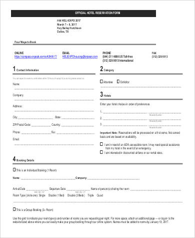 Reservation Forms In Pdf Sample Indian Railway Reservation
