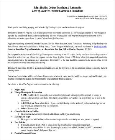 40+ Proposal Letters in PDF Sample Templates