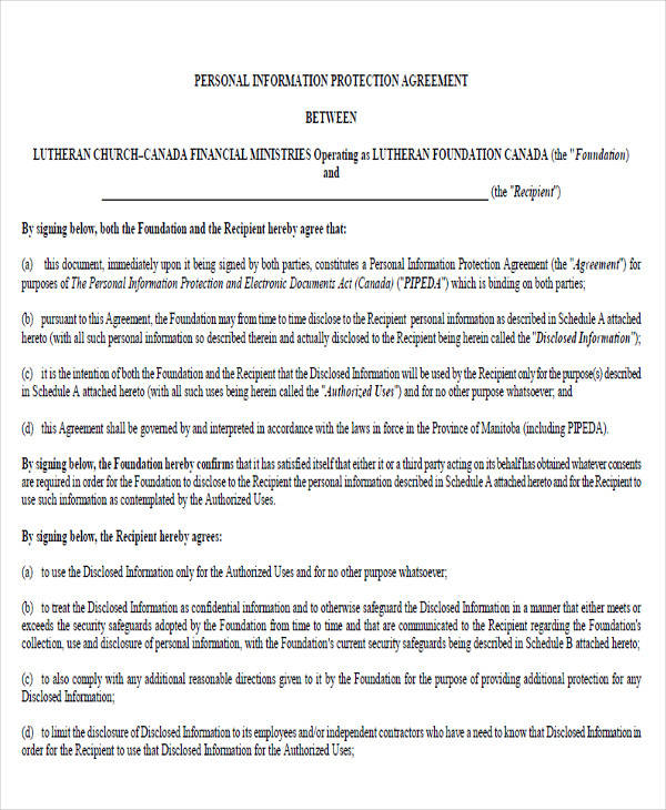 Personal Confidentiality Agreement Patient Confidentiality