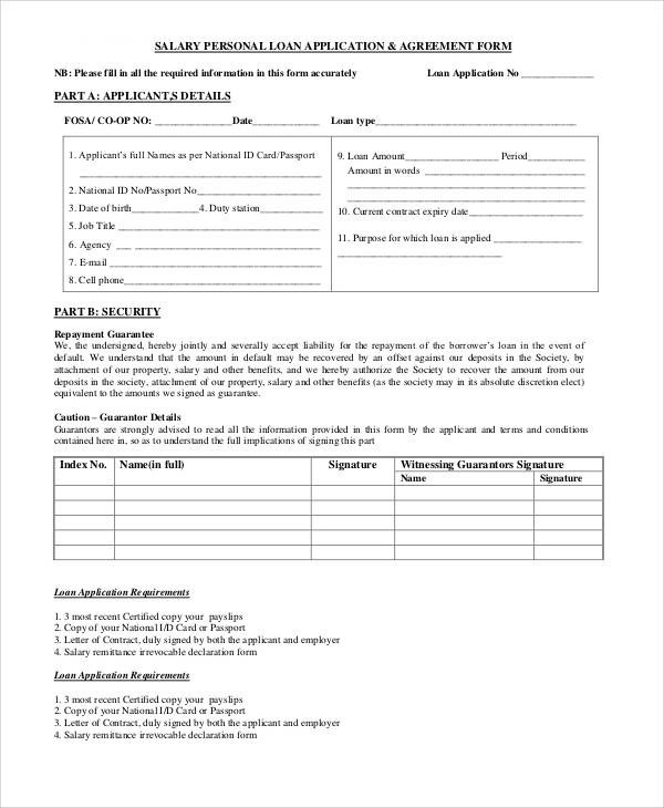 Basic Agreement Form - basic agreement