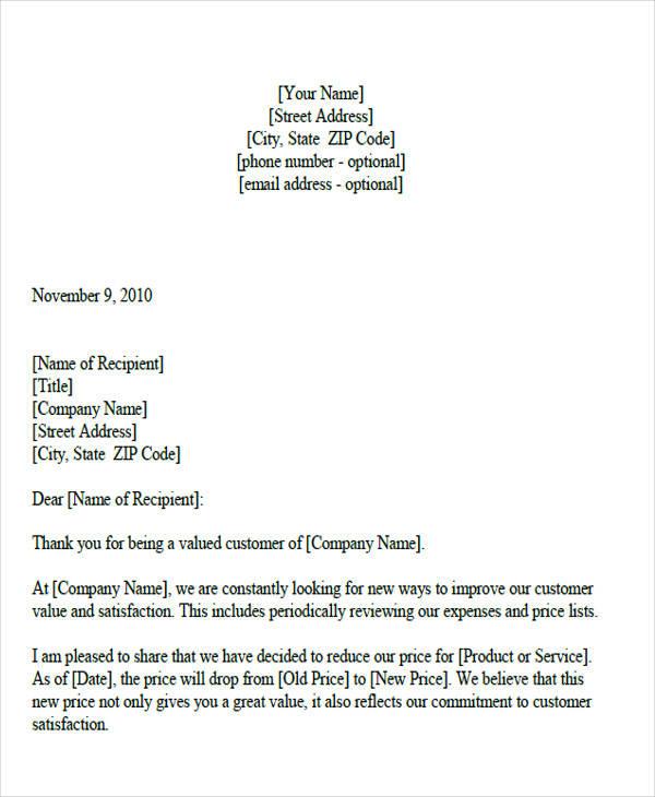 29+ Sample Quotation Letters - PDF, DOC