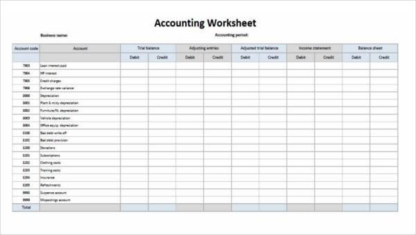 29 Printable Accounting Forms