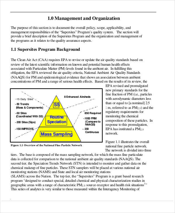 8+ Program Management Plan Samples Sample Templates