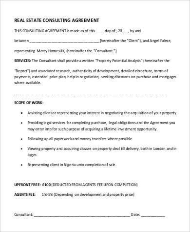 Legal Consulting Agreement Images - Agreement Letter Format